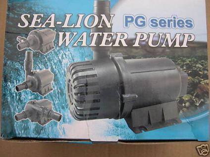 R Profi Filterpumpe 8000 l/h Bachlaufpumpe Teichpumpe - Vorschau 1
