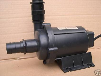 R Profi Filterpumpe 8000 l/h Bachlaufpumpe Teichpumpe - Vorschau 2