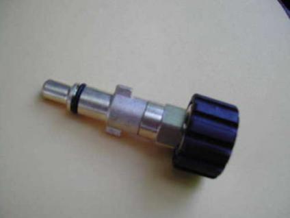 Adapter M22x1,5 auf KW- Stecknippel für Alto KEW Lavor Kärcher Hochdruckreiniger - Vorschau