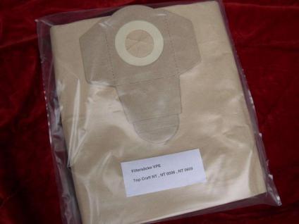 10x Filtersacke Staubsaugerbeutel Staubbeutel für Güde NTS 1250 1600 Sauger