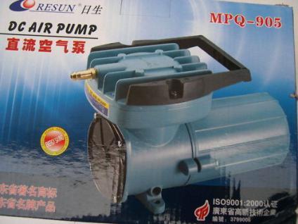R Transport- Belüfter 12Volt 6000 l/h Durchlüfter Koi - Vorschau