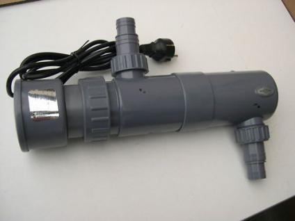 R UV-C Teichklärer 11 Watt Wasserklärer Sterilizer NEU