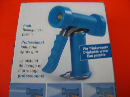 ND - Waschpistole für Heißwasser bis 50°C 100 ltr/min für Großküche Metzgerei