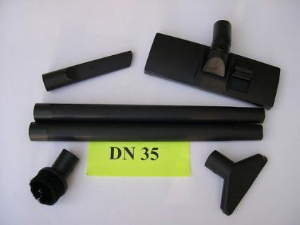 Universal Saugdüsen - Set 6tlg DN35/36 Werkstattsauger Industriesauger NT Sauger