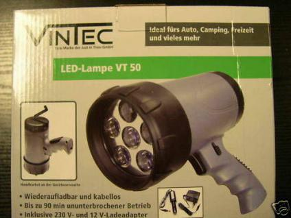 Profi LED Arbeitslampe Handlampe Lampe Taschenlampe