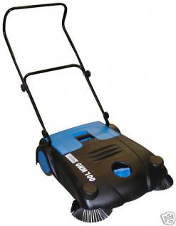 Profi Handkehrmaschine Bürstenkehrmaschine 700mm - Vorschau 1