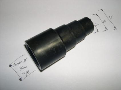 Geräteanschluß- Stufenadapter 26/32/36 für Wap Alto Turbo XL 1001 M2 M2L Sauger