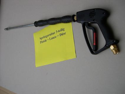 Hochdruckpistole Pistole + Strahlrohr Lanze 700mm für WAP mit Düse - Vorschau
