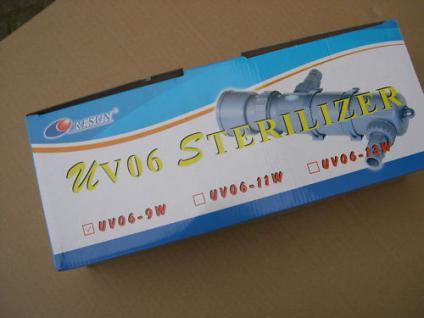 R UV-C Teichklärer 9 Watt Wasserklärer Sterilizer NEU