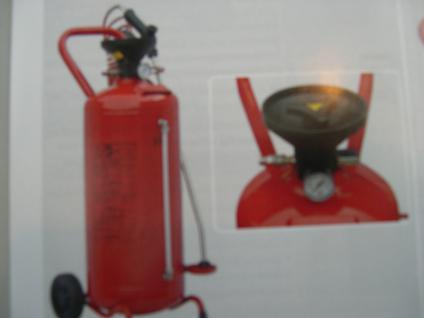 25 Liter Vorsprühgerät Druckluftanschluss fahrbar