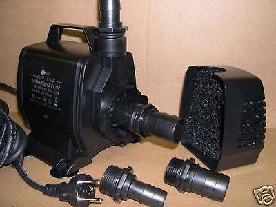 Profi - Filterpumpe Bachlaufpumpe Teichfilterpumpe