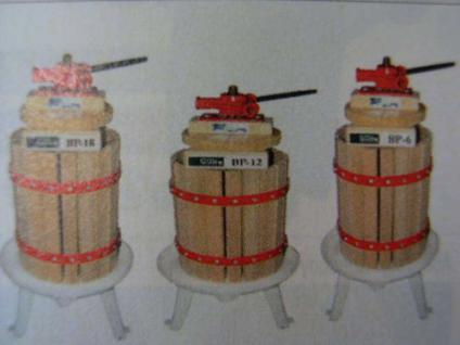 Naturentsafter Beerenpresse Weinpresse Weinkelter 6 ltr - Vorschau