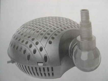 Filterspeisepumpe Bachlaufpumpe Teichfilter-Pumpe 9000L - Vorschau