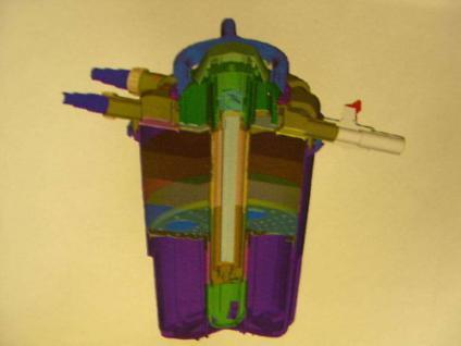 R Resun Druckfilter Teichfilter mit 24W UVC 18000 L/h - Vorschau 2