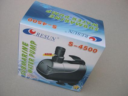 Pumpe Tauchpumpe Aquariumpumpe Resun S-4500 L/H