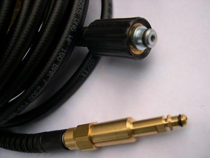 10m DN6 Hochdruckschlauch M22/8,8- Steck Kärcher für Hochdruckreiniger - Pistole - Vorschau 2
