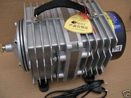 Hochleistungs - Sauerstoffpumpe 12000 l/h Kleinkläranlage Biokläranlage Toilette - Vorschau