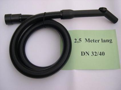 2,5m Saugset 3tlg DN32 für AEG NT 1500 A Sauger