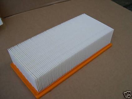 Flachfaltenfilter Filter Kärcher NT361 561 611 35 55