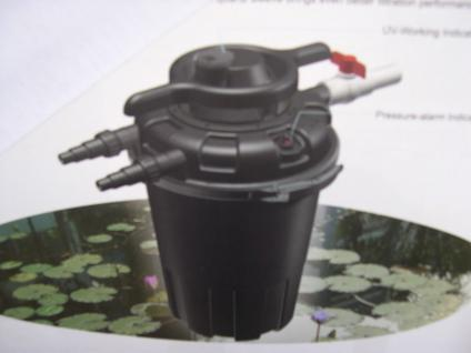 Profi Druckfilter Teichfilter mit 24 W UVC 18000 l/h