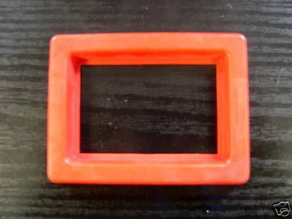 Aquarium Futterring Plastik rot Futter Aufzucht 364 - Vorschau