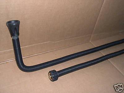 Winkel- Strahlrohr f Fahrzeugunterböden Kränzle Kärcher HD HDS Hochdruckreiniger