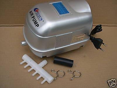 Resun LP20 Sauerstoffpumpe Teichdurchlüfter Belüfter 1200 l/h Eisfreihalter