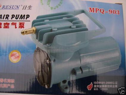 Resun Transportbelüfter 12V Batterie- Belüfter 4080 l/h - Vorschau