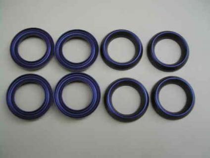 Manschettensatz 8- Kolben Hochdruckpumpe Wap Alto C1250 C1260 Hochdruckreiniger - Vorschau