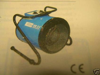 Profi Baustellenheizer Elektroheizer 230V Heizgebläse - Vorschau