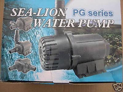 Profi Filterpumpe 8000L/h Bachlaufpumpe f Teichfilter - Vorschau 1