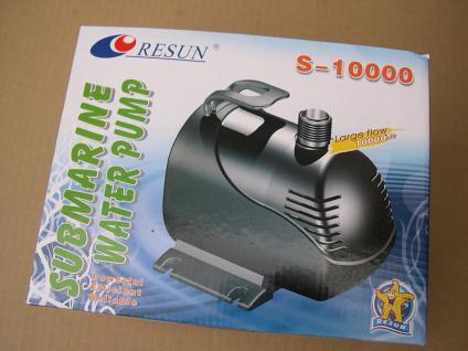 Waterpump 10000 Ltr/h Filterpumpe für Teichfilter Wasserfall - u. Bachlaufpumpe