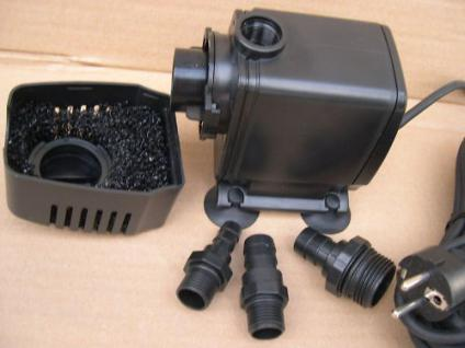 Profi Filterpumpe 6000L/h Bachlaufpumpe f. Teichfilter - Vorschau 2
