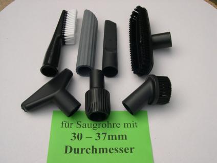6x Saugdüse + Adapter DN35/36 Nilfisk Alto Attix 550-01 550-11 550-21 Sauger - Vorschau