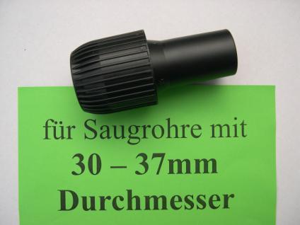 1x Saugrohr - Adapter DN35 Wetrok Taski Tennant Stihl Soteco Sorma Nilco Sauger - Vorschau