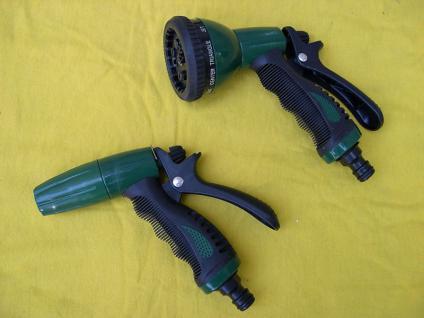 """2 Stück Auto - Waschpistole für 1/2"""" Wasserschlauch Autopflege Bus LKW PKW BS - Vorschau"""