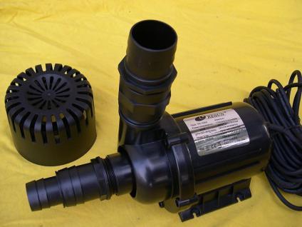 Profi - Teichfilterpumpe 15 000 Liter Filterpumpe Bachlaufpumpe Wasserfallpumpe - Vorschau 2