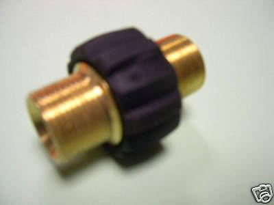 HD- Schlauchverbinder für K HD HDS Kärcher u. Kränzle Hochdruckreiniger - Vorschau