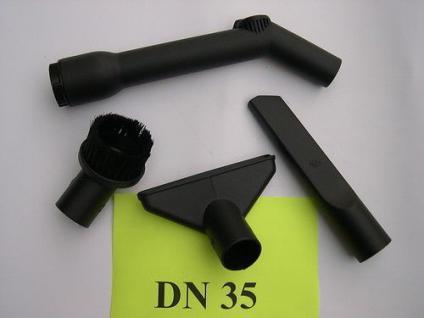 4 Teile Saugdüse Handgriff Saugerzubehör DN35 für Kärcher NT Sauger Staubsauger