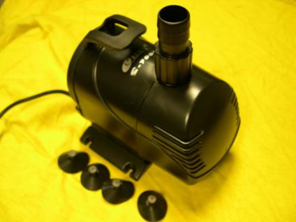 Förderpumpe 7000 l/h Teichfilterpumpe Teichfilter - Pumpe Filterpumpe Teichpumpe