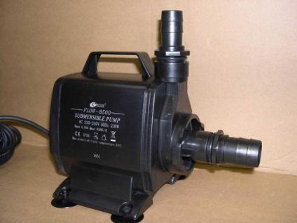 Bachlauf - Teichfilter - Pumpe 8000 L Filterspeisepumpe