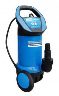 G Profi Schmutzwassertauchpumpe 8000 l/h Schmutzwasserpumpe Tauchpumpe V2A Welle