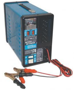 Batterielader 18Amp 150Ah Batterieladegerät Auto Batterie Start- und Ladegerät