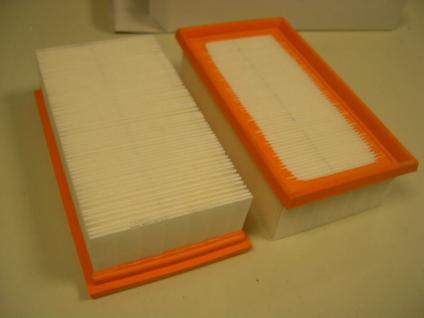 Flachfaltenfilter Filter für Kärcher NT361 561 611 35 55 NT Sauger Staubsauger - Vorschau