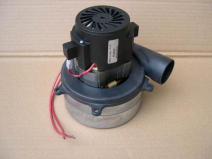 Motor Saugmotor 1,1KW mit Abluftroh für Wetrok Gutbrod Floor Comac Bodenreiniger - Vorschau
