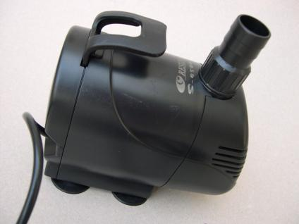 Qualitätsware Filterpumpe 10000 l/h Strömungspumpe Bachlaufpumpe Wasserfallpumpe
