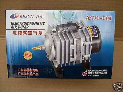 Resun Membrankompressor 2280 l/h Belüfter Durchlüfter Luftpumpe für Gartenteich - Vorschau