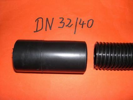 Gummisaugmuffe DN32/40 für Kärcher NT Sauger für Saugschlauch 40mm Saugmuffe