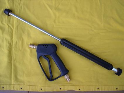 Spritzgarnitur Pistole + Strahlrohr 800 mm für Kärcher HD HDS Hochdruckreiniger - Vorschau