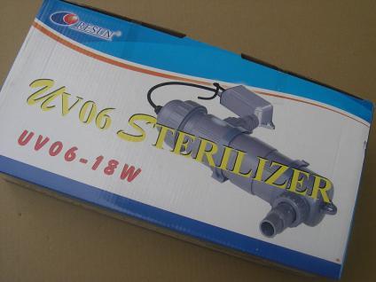 Resun UV-C Teichklärer 18 Watt Wasserklärer Sterilizer UV UVC Lampe Klärgerät